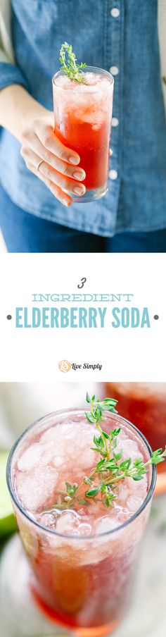 I LOVE this drink!!! A super easy homemade soda that provides an immune-boost with every sip! Soo good. A fun soda-like mocktail that's actually good for you.