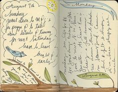 so simple and refreshing @Melissa Squires McCobb Hubbell #art #journal