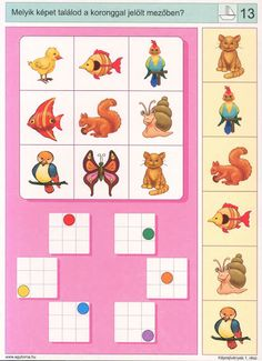 Logico --Képrejtvények 1 - Katus Csepeli - Picasa Webalbumok File Folder Activities, Preschool Learning Activities, Kids Learning, Visual Perception Activities, Sequencing Cards, Coding For Kids, Color Games, Literacy Skills, Learning Through Play