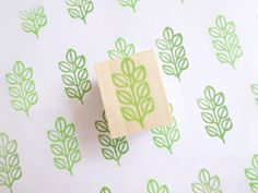 Leaf stamp, Home decor stamp, Pale green, scrap booking, Teacher's supplies, Wrapping paper, Lime, Pastel on Etsy, $8.81