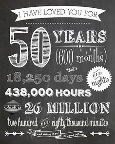 22 Of the Best Ideas for Golden Anniversary Quotes . Developing the best pleased anniversary quote doesn't require … Anniversary Chalkboard, Mom Dad Anniversary, Golden Wedding Anniversary, Anniversary Parties, Anniversary Ideas, 50th Anniversary Quotes, Anniversary Surprise, 40th Wedding Anniversary Party Ideas, Chalkboard Text