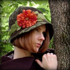 cloche | too i ve also included a picture of my green cloche hat not on the ...