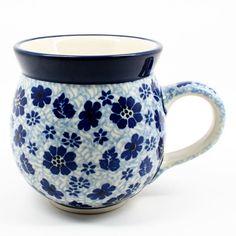 polish-pottery-ladies-mug-#1443