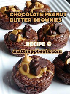 Peanut Butter Chocolate Brownies Recipe by Matt Sapp Beats
