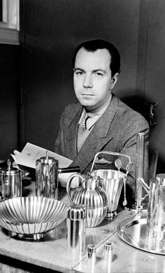 The Swedish prince by the name of Sigvard Bernadotte who gave up his title for another love: Design.