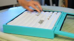 DIY Jewelry box for rings/earrings