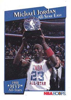 Michael Jordan MVP All Star Game Michael Jordan Mvp, Michael Jordan Pictures, Michael Jordan Basketball, Jordan 23, Mj, All Star, Baseball Cards, Sports, Sports Basketball