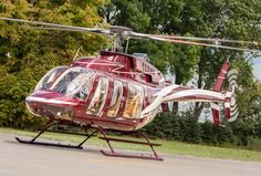 Brand New Bell-407 GX. This latest 407's Bell helicopter model is high-equipped inclusive Garmin G1000 Glass Cockpit, Synthetic Vision System. Has VIP/Corporate leather interior 2   4(5) seats =>