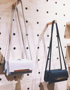 Bing Bang x UO cross body bags! LUXE gold & ose gold hardware with color poppin' leather interiors. Strap is removable to create clutch.