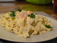 Rákos-tejszínes tészta - Ez nem a Le Cordon Bleu Le Cordon Bleu, Linguine, Ravioli, Pasta Salad, Potato Salad, Cabbage, Brunch, Food And Drink, Yummy Food