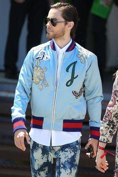 Jared Leto Milan 2016 #Gucci