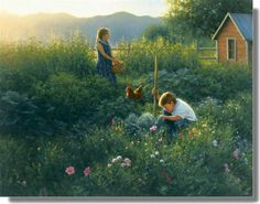 """Our Country Garden"" by Robert Duncan"