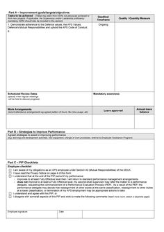 Performance Improvement Plan Template 02
