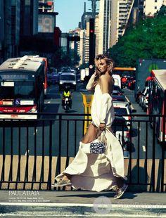 Caroline Trentini - Vogue Brazil