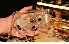 Chanel Diamanten Baukasten Hülle für iPhone 4/4S/5/5S und Samsung S4/S5 und Note2/Note3 - spitzekarte.com