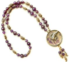 Smithsonian Necklace Design from Bead Inspirations!  This beading kit features a toggle clasp from Nunn Design.  Yes, you can make this!