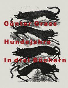 """Günter Grass: """"Hundejahre"""" (Steidl Verlag). Lesung und Ausstellung auf der Münchner Bücherschau 2014 www.muenchner-buecherschau.de"""