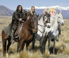"hetalia-where-it-shouldn-t-be: "" onward Shadowfax! show us the meaning of eyebrows! """