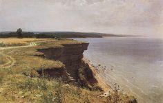 Kama Near Yelabuga, 1895 by Ivan Shishkin. Realism. landscape. The Art Museum, Gorky, Russia