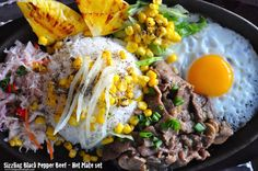 Sizzling Black Pepper Beef - Hot Plate Recipe :http://www.recipesaresimple.com/sizzling-black-pepper-beef-hot-plate/
