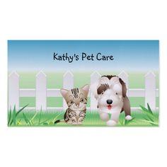 Animal Veterinarian Business Card