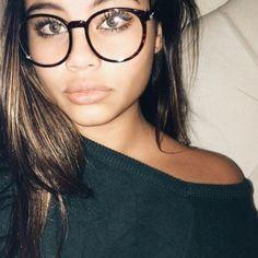 b4fd4ef750 Clear Glasses Oval Round Plastic Frame Women Large Big Eyeglasses 100% Uv  Brown  femalefaces