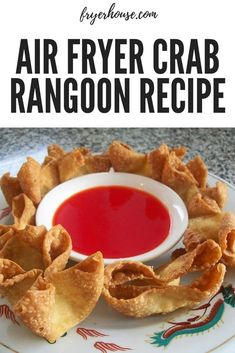 Hankering for some crab rangoon but can't get out of the house? This air fryer crab rangoon recipe is for you. Hankering for some crab rangoon but can't get out of the house? This air fryer crab rangoon recipe is for you. Air Fryer Oven Recipes, Air Fryer Dinner Recipes, Appetizer Recipes, Air Fryer Chicken Recipes, Yummy Dinner Recipes, Seafood Appetizers, Breakfast Recipes, Crab Rangoon Recipe, Weight Watcher Desserts