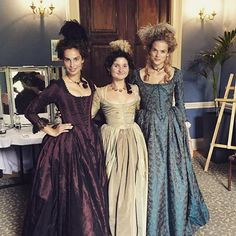 Elizabeth, Verity, & Caroline