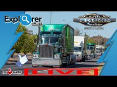 Live American Truck Convoy + Sorteio do G27 Log Gaming