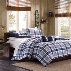 MiZone Alton Plaid Comforter Set - Twin/XL Twin