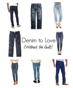 Clockwise from Top Left: Monkee Genes | Lucky Brand | Lucky Brand | AGJeans | Texas Jeans | Nudie Jeans | Imogen + Willie | Howies Don't you love it when fashion magazines feature items you can buy...