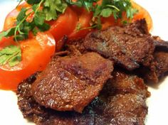An easy fried beef / tapas recipe! Delicious and quick solution for dinner.