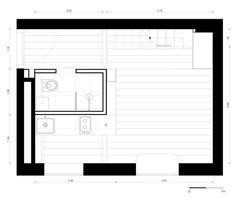 Micro-apartmento em Berlim,Planta Térreo