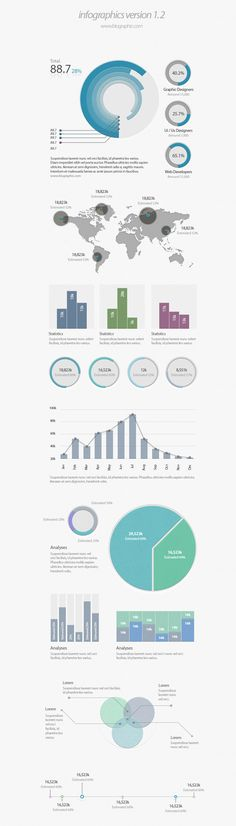 Infographic Ui Elements (Psd)