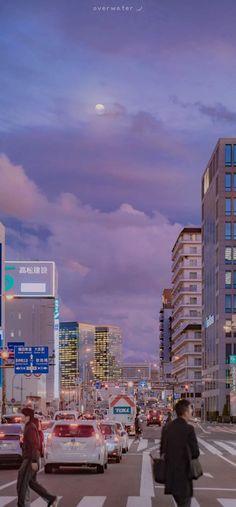 Soft Wallpaper, Scenery Wallpaper, Aesthetic Pastel Wallpaper, Kawaii Wallpaper, Aesthetic Backgrounds, Tumblr Wallpaper, Aesthetic Wallpapers, Aesthetic Japan, City Aesthetic