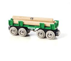 Brio Lumber Loading Wagon BRI-33696 The ride back from the forest is a breeze. With this educational real life toy it is easy to load and unload the lumber from the wagon. It is compatible with other BRIO toys and any magnetic crane can http://www.MightGet.com/january-2017-12/brio-lumber-loading-wagon-bri-33696.asp