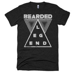 """Ain't+No+Party+Like+A+Beard+Ride+Party+<<<+Premium+Tri-Blend+>>>+Short+sleeve+soft+t-shirt """"Ain't+No+Party+Like+A+Beard+Ride+Party""""  Enjoy+everything+you+love+about+the+fit,+feel+and+durability+of+a+vintage+t-shirt,+in+a+brand+new+version.+Slight+scoop+neck.  •+Polyest..."""