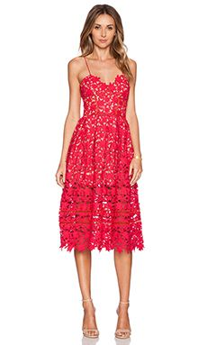 Shop for self-portrait Azalea Dress in Red & Nude at REVOLVE. Free 2-3 day shipping and returns, 30 day price match guarantee.