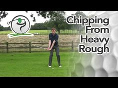 In this lesson I'd like to cover some tips for chipping the golf ball out of a heavy lie.  I actually cover 2 types of heavy lie in the video below because the way they are played is quite different.  When you find your ball in long grass around the fringes of the green, take a good look at how the ball is sitting. Get a feel for the length of the grass and how much is going to be underneath the ball.