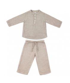 Numero 74 Suit Dan shirt & pants natural