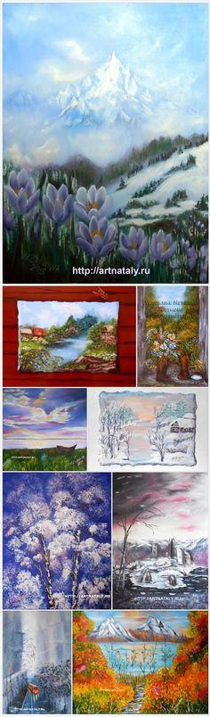 Landscapes @eseniya http://artnataly.ru/category/landscapes/