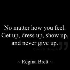 ~ never give up