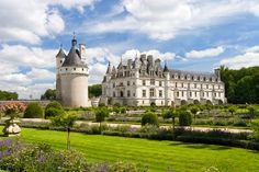 Le château de Chenonceau est le plus visité des châteaux de la Loire.