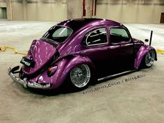 VW in aubergine chrome color