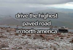 Driving the highest paved road in North America - Mount Evans