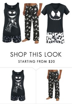 """Lanya's Nightwear"" by switchback13 on Polyvore featuring Hot Topic"