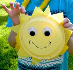 Sunshine Plate Kids Craft