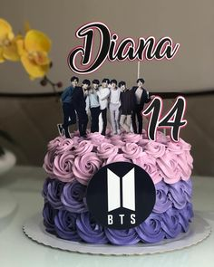 Teen Cakes, Girl Cakes, Cake Designs For Girl, Bts Cake, Cake For Boyfriend, Army Cake, Bithday Cake, Creative Cake Decorating, Girl Birthday Decorations