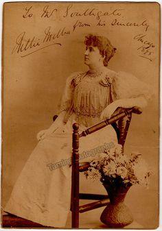 Melba, Nellie - Large Signed Photo!