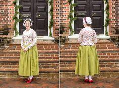 Mode de Lis: Novelty Print Jacket · 1780s Style